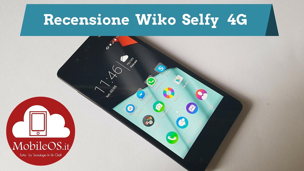 Recensione Wiko Selfy (2)