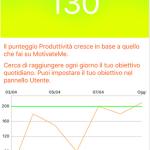 Screenshot dell' app