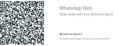 codice qr whatsapp