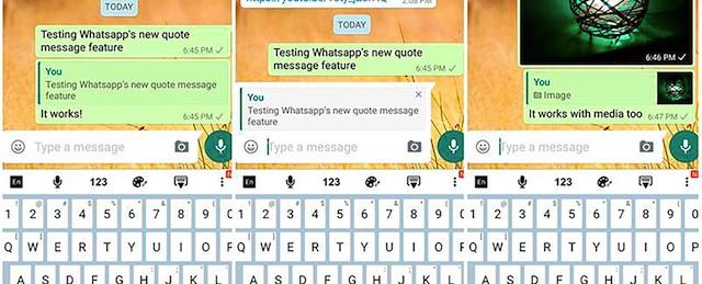 Citare Messaggi WhatsApp