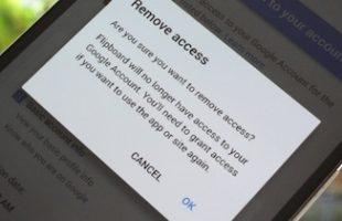 Eliminare Accesso App Google Account