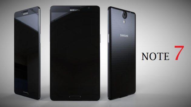 Variante Galaxy Note 7 Edge