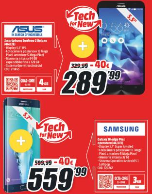 Zenfone 2 e Galaxy S6 Edge