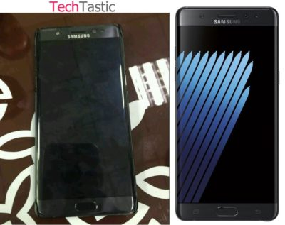 Foto Samsung Galaxy Note 7