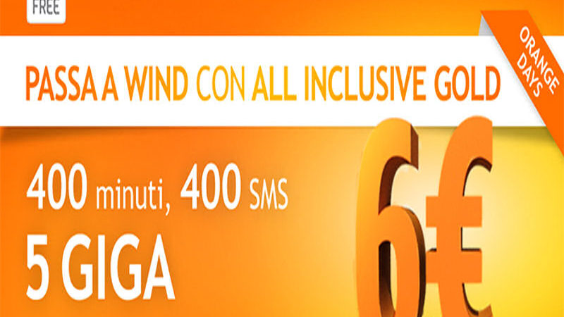Offerta Wind All Inclusive Gold