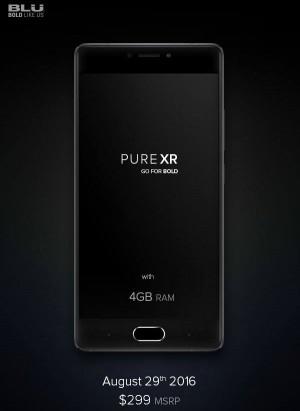 Blu Pure XR ufficiale! Phablet dalle ottime specifiche...