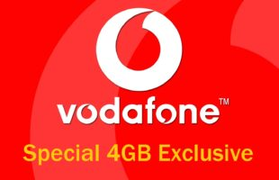 Vodafone Special 4GB Exclusive