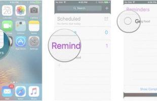 Pulire Reminders App iPhone