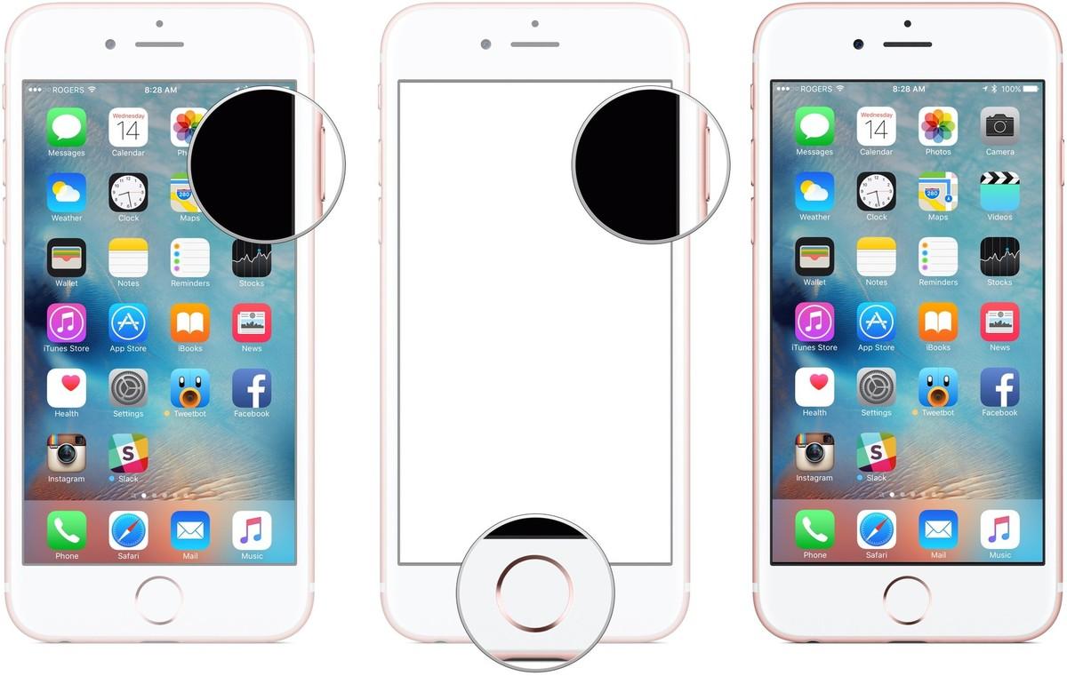 Fare screenshot su iPhone 7 e iPhone 7 Plus