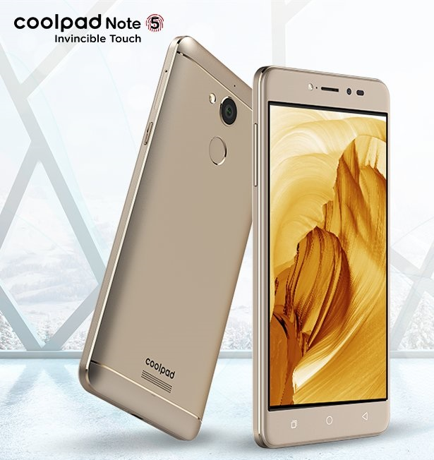 Coolpad Note 5: top di gamma pronto ad impressionare