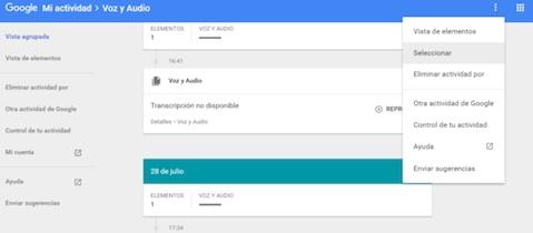 Come Eliminare Audio Salvato da Google