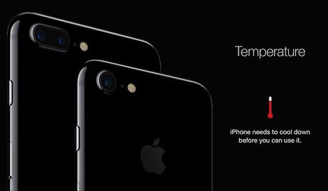Raffreddare iPhone Bollente