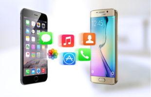 contatti iphone su android