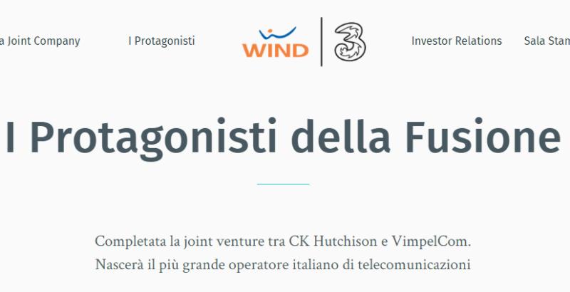 Completata la fusione tra Wind e 3 Italia, Ibarra alla guida