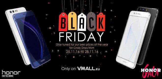 Black Friday: su vMall l'Honor 8 è scontato! Affrettatevi