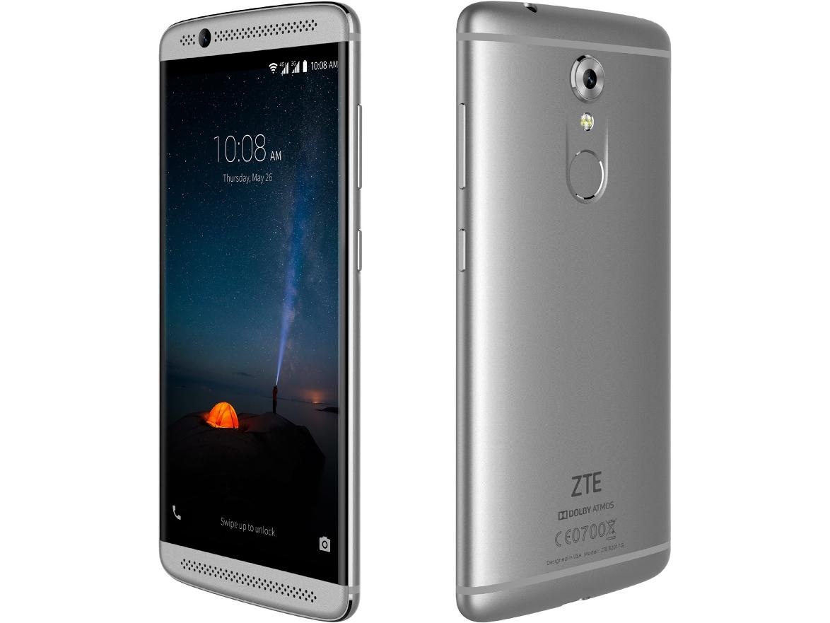 zte axon 7 mini android 7 upper