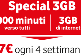 Special 3G di Vodafone