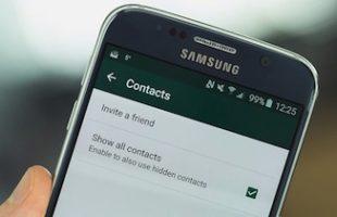 Problemi Contatti WhatsApp