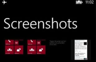 Fare Screenshon Windows Phone