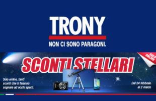 Promozione Trony