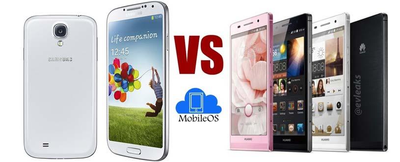 Samsung-Galaxy-S4 VS P6