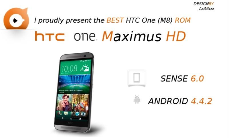 Rom HTC One M8