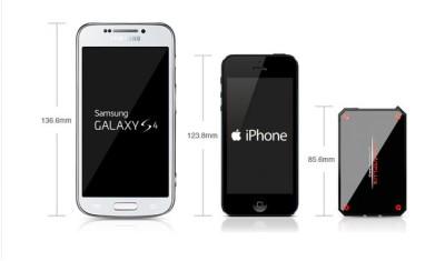 Lithiumcard su indiegogo batteria esterna di piccole for Smartphone piccole dimensioni
