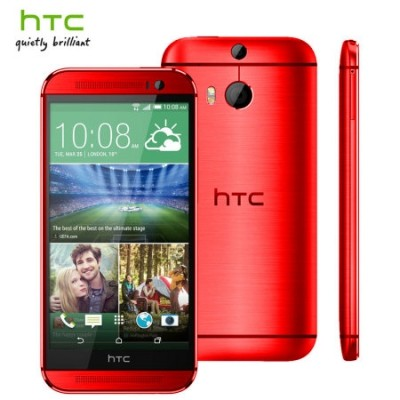 HTC One M8 rosso