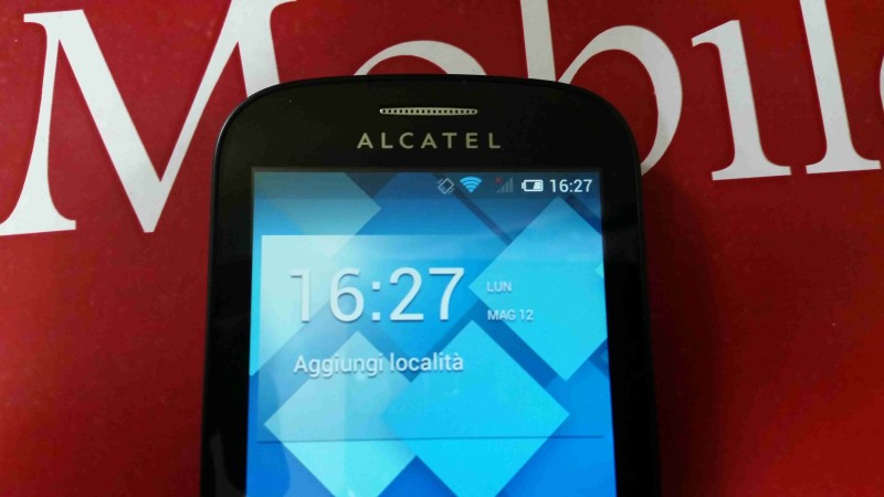 Recensione Alcatel POP C3 001