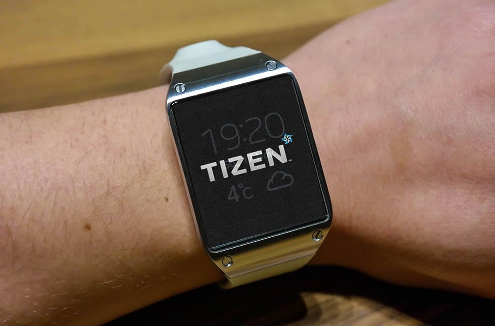 Tizen su Samsung Galaxy Gear