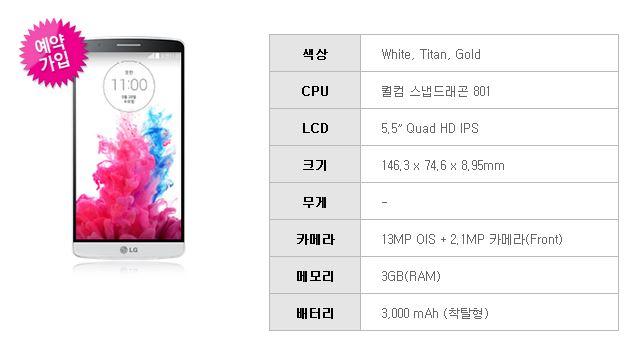 Vendita LG G3