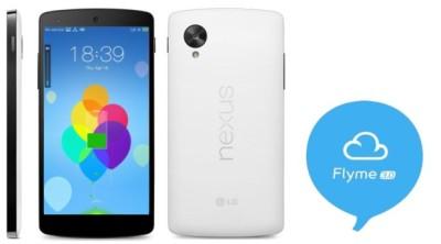 Flyme OS su Nexus 5