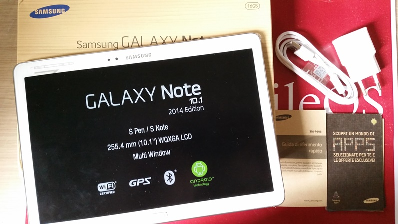 recensione samsung galaxy note 10 1 2014 edition. Black Bedroom Furniture Sets. Home Design Ideas