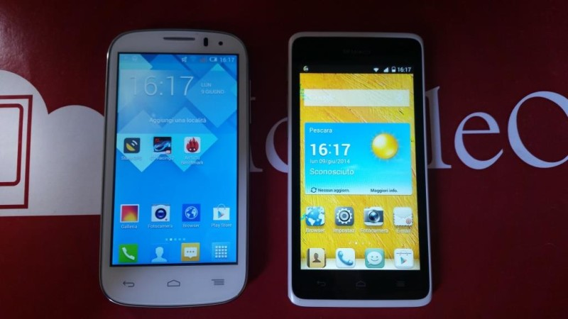 Huawei Ascend Y530 VS Alcatel Pop C5