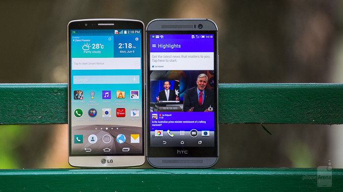 LG 3 Vs HTC One M8