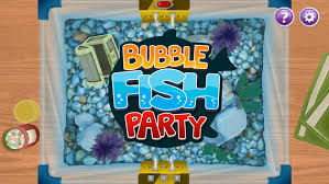 bubble fish party