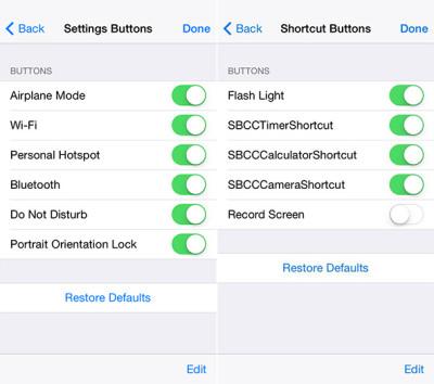 Novità iOS 8: Potremmo personalizzare il centro di controllo