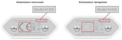 carica batterie Apple difettosi