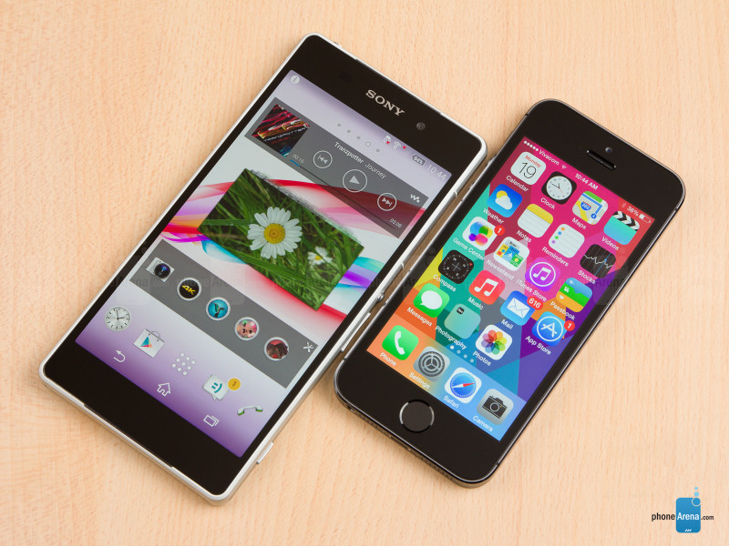 Sony Xperia Z2 vs Apple iPhone 5s