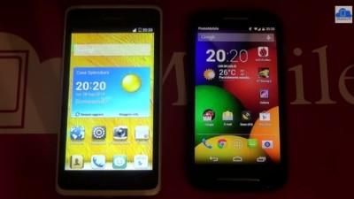 Motorola Moto E VS Huawei Ascend Y530
