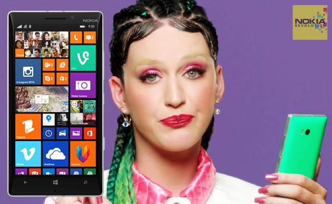 Nokia Lumia 930 & katy perry