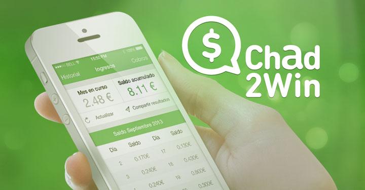 Chad2win l 39 app che ti paga per chattare for App che ti paga per camminare