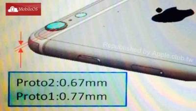 iPhone 6: foto mostrano la fotocamera sporgente