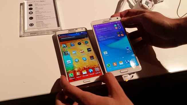 1 Samsung Galaxy Note 4 VS Samsung Galaxy Note 3