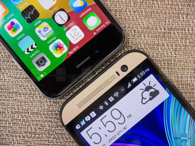 Apple iPhone 6 vs HTC One M8