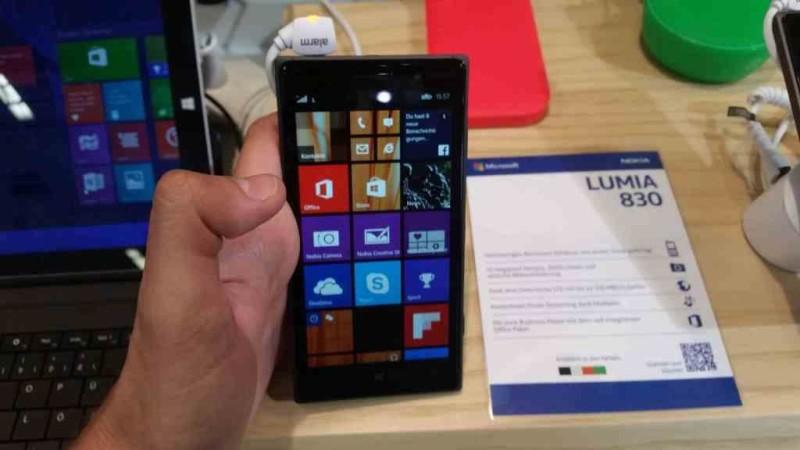 IFA 2014 Nokia Lumia 830