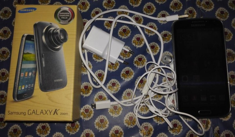 Unboxing Samsung Galaxy K Zoom