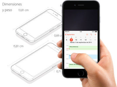 Utilizzare iPhone 6 e iPhone 6 Plus con una mano sola?