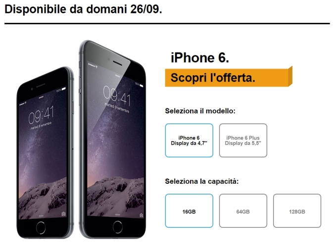 iphone 6 e iphone 6 plus 3 italia
