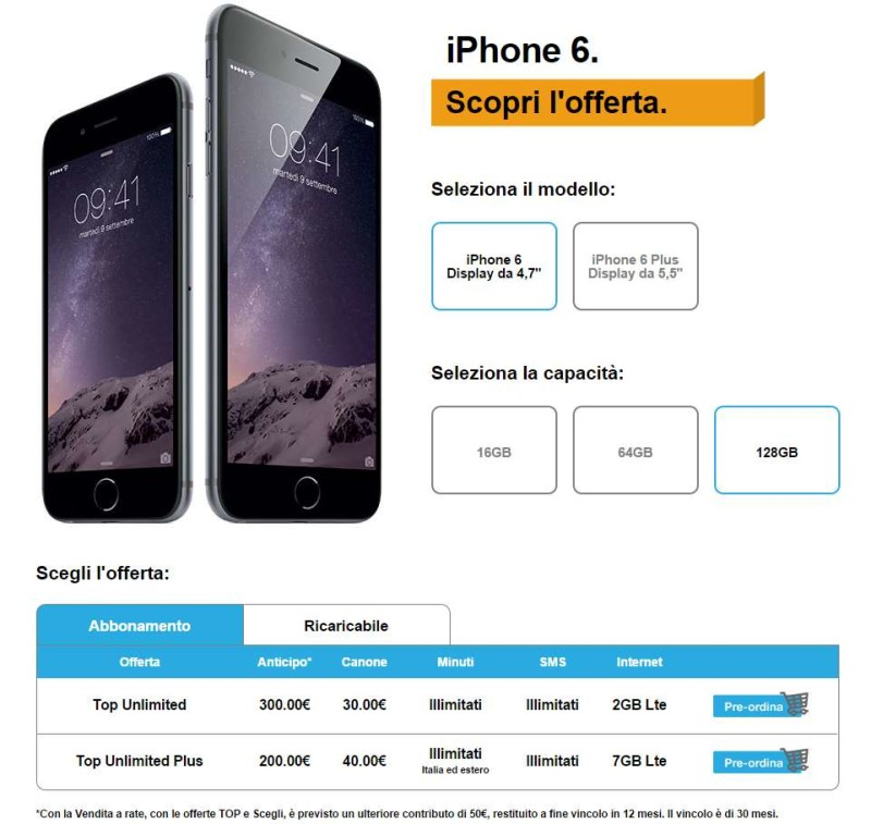 iphone 6 top unlimited plus